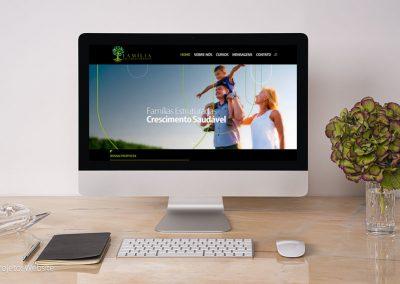 Família em crescimento Website