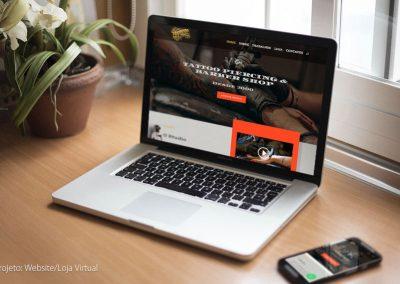 Fernando Tattoo Studio - Website e Loja Virtual